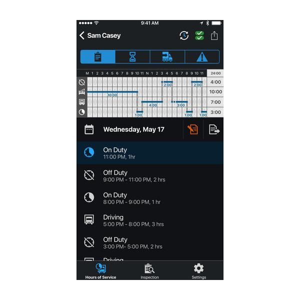 Garmin eLog™ App 2