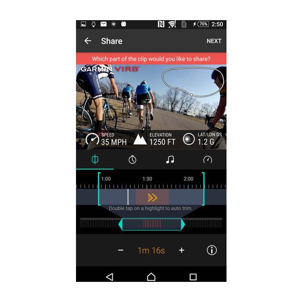 VIRB®-App 3