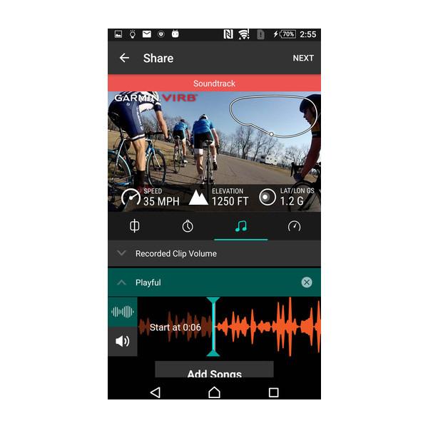 VIRB®-App 5