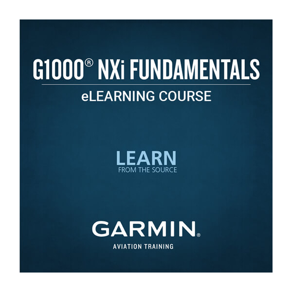 G1000 NXi Fundamentals eLearning Course