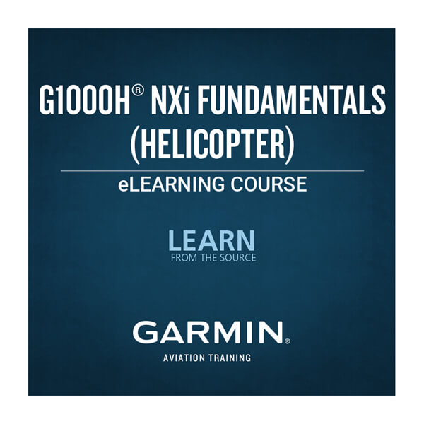 G1000H® NXi Fundamentals eLearning Course (Helicopter)