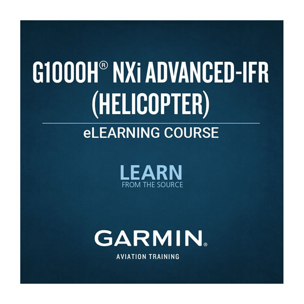 G1000H NXi Advanced IFR eLearning Course (Helicopter)