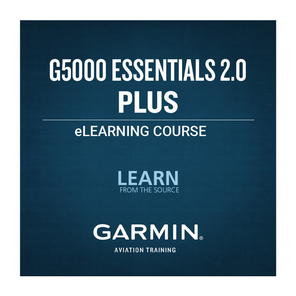 Garmin G5000 Essentials 2.0 eLearning Course