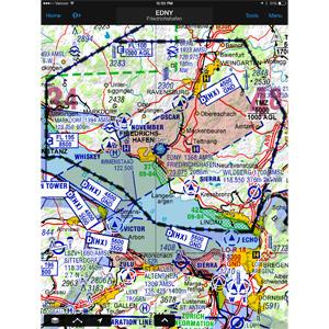 Europe VFR Charts (1 Year Garmin Pilot Add-on)