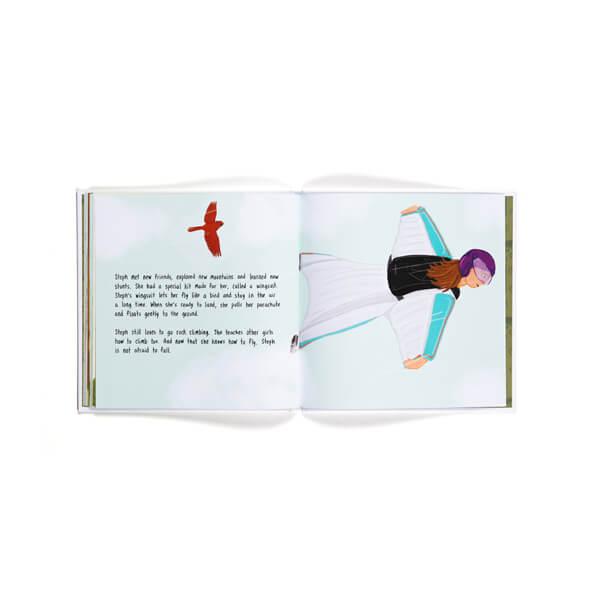 Children's Book: Being Brave in a Big World 4