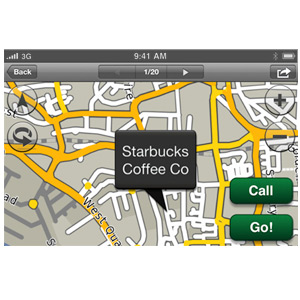 Garmin StreetPilot® For iPhone 5
