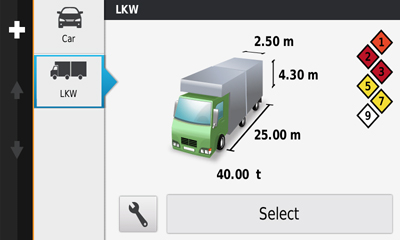 garmin dezlcam truck sat nav with built-in dash cam customise