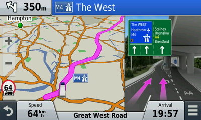 garmin dezlcam truck sat nav with built-in dash cam
