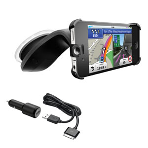 StreetPilot® and iPhone 4® Car Kit