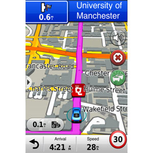 iPhone 4<sup>®</sup> Navigations-App und Designer-Autoset 2