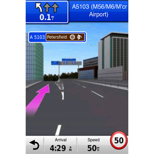 iPhone 4<sup>®</sup> Navigations-App und Designer-Autoset 3