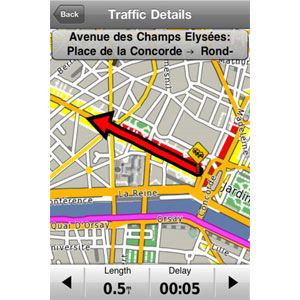 iPhone 4<sup>®</sup> Navigations-App und Designer-Autoset 4
