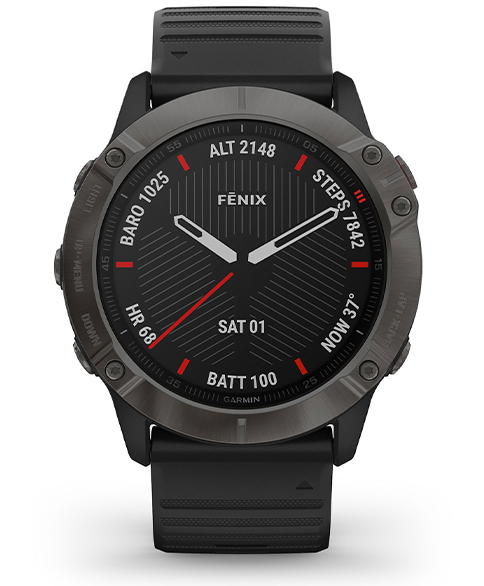 Fenix 6x Carbon Grey