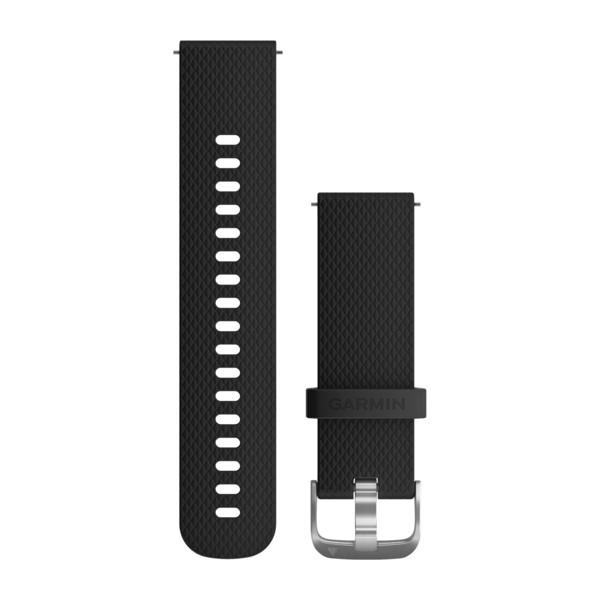 黑色硅胶表带