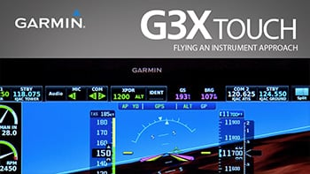 G3X Touch: Flying an Instrument Approach