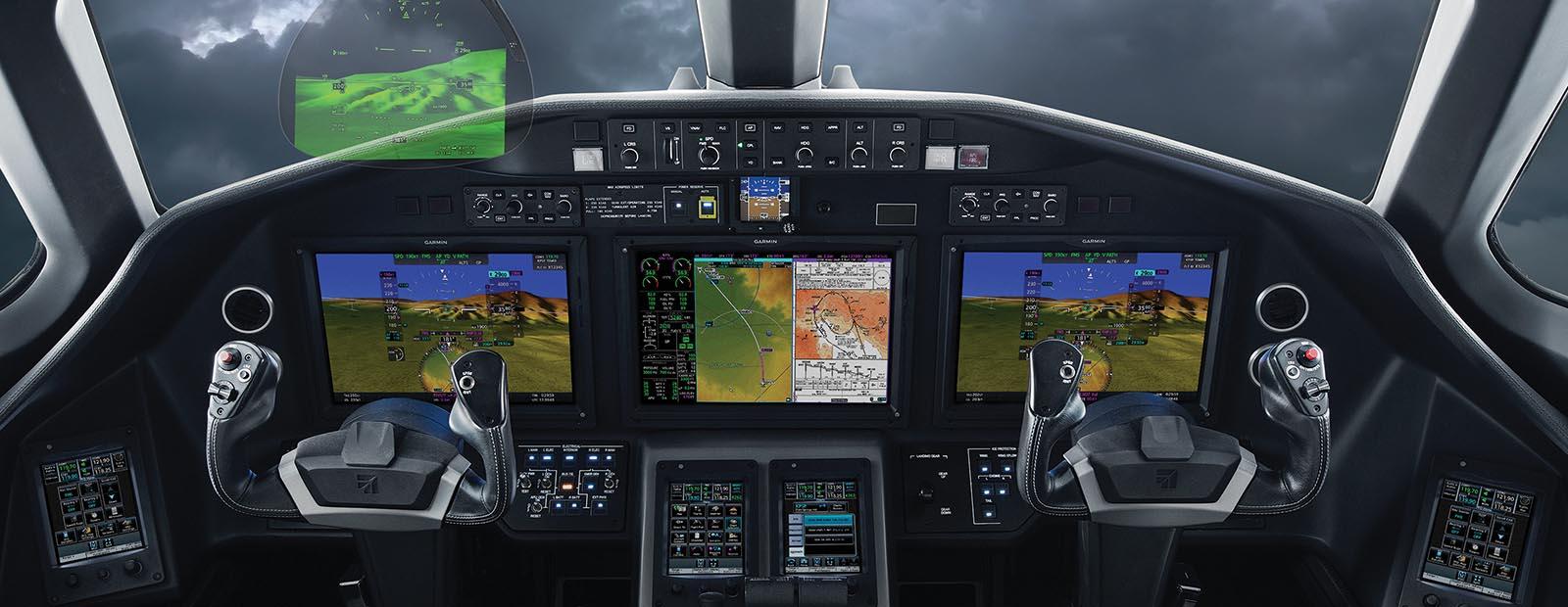 Business Aviation – Flight Decks & Displays
