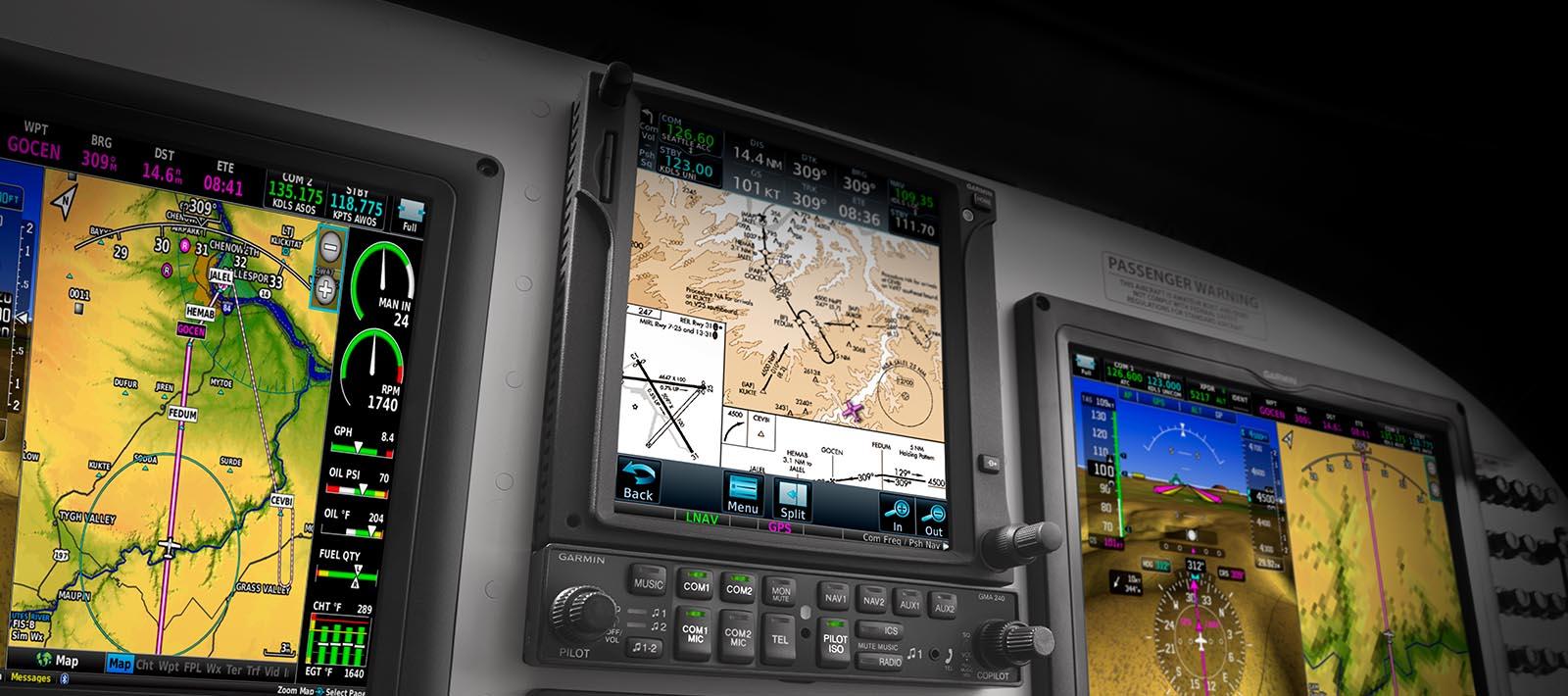 Experimental – Navigation & Radios