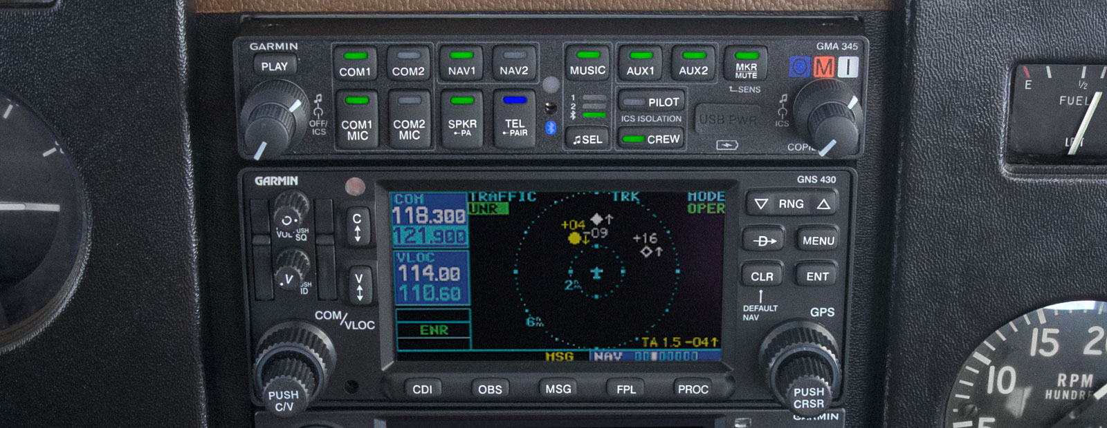 General Aviation – Audio Panels
