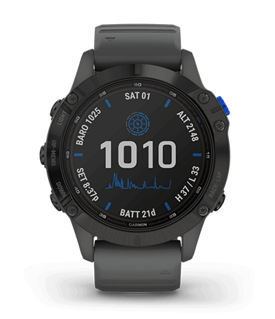 Garmin fenix, multisport smartwatches with GPS.