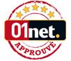 Approuvé par 01Net