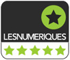 Award 5 étoiles - Les Numériques