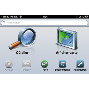 Garmin StreetPilot® pour iPhone 1