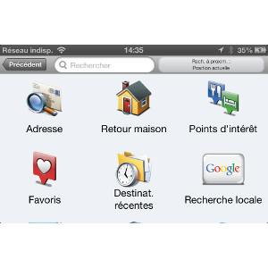 Garmin StreetPilot® pour iPhone 2