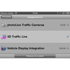 Garmin StreetPilot® pour iPhone 4