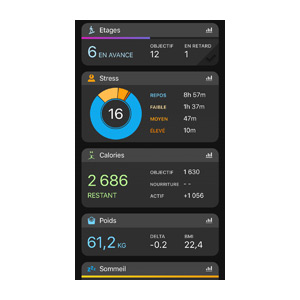 Application Garmin Connect 9