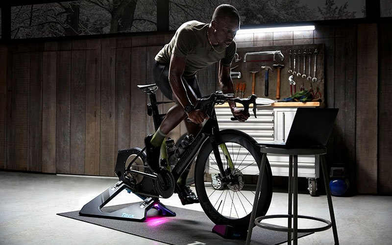 Tacx NEO Bike Smart Trainer Workout T8000.60 Cyclist Bicycle