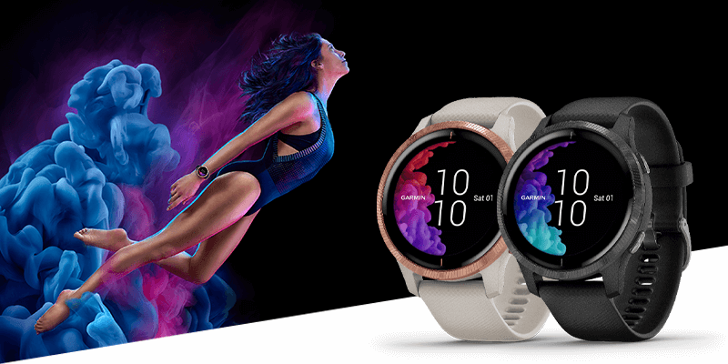 Beautiful. Detailed. Alive. Venu™ GPS smartwatch.