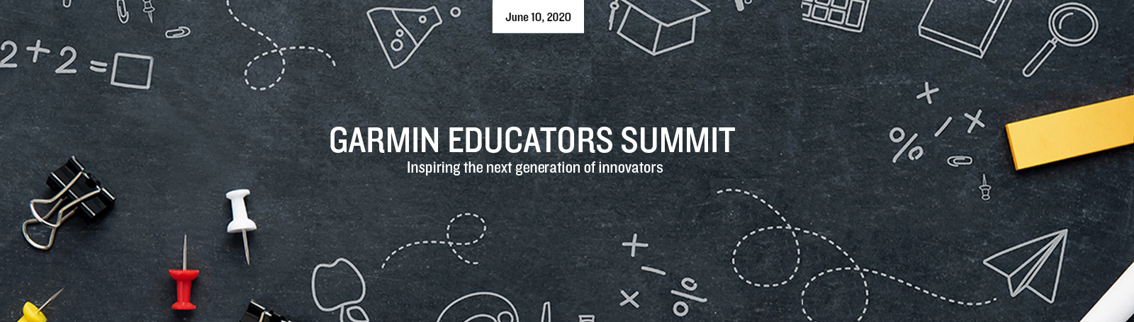 Garmin Educators Summit Banner Graphic