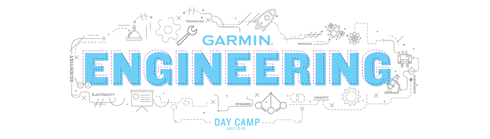 Garmin Engineering Day Camp Collateral - Banner Graphic