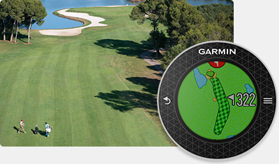 Garmin Approach Golf Watches - Cartes de parcours CourseView en couleurs