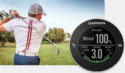 Garmin Approach Golf Watches - Swing Training