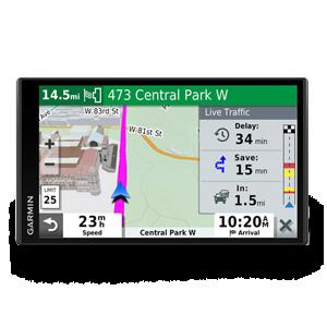 Image of DriveSmart 65 & Traffic showing traffic screen
