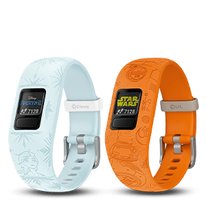 Vivofit Jr. 2 with Disney and Star Wars branded watches