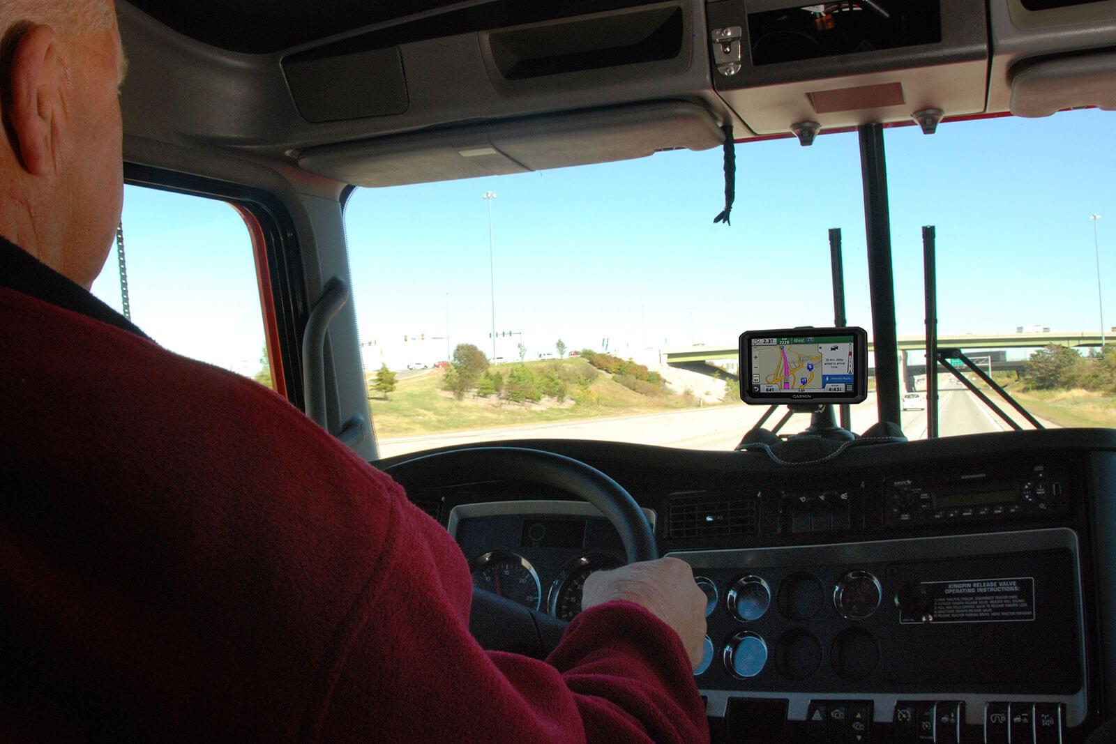 navigatore satellitare per camion