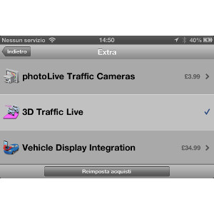 Garmin StreetPilot® per iPhone 5