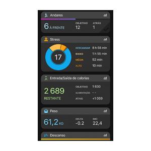 Aplicação Garmin Connect 7