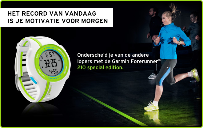 Forerunner 210 Special Edition