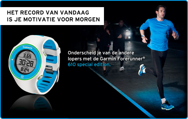 Forerunner 610 Special Edition