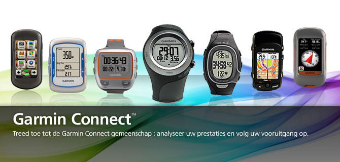 Garmin Connect : de community van de sporter