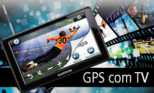 GPS com TV Digital