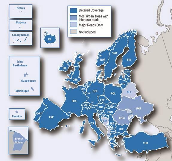 Ost- und Westeuropa (Europa 45)