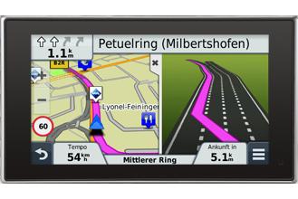 3D Kreuzungsansicht und aktiver Fahrspurassistent