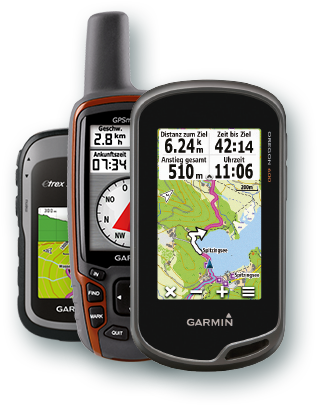 eTrex 30, Oregon 600, GPSmap 62s
