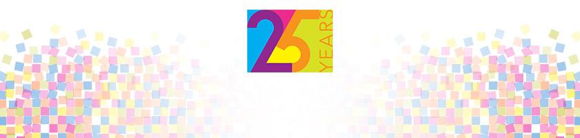 Garmin 25 års jubilæum