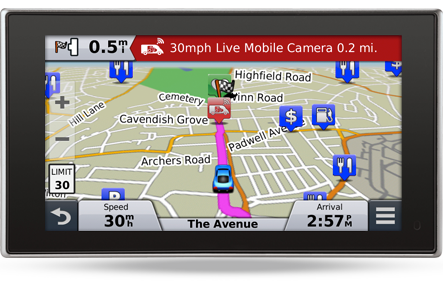 Garmin Live Mobile Camera Alert