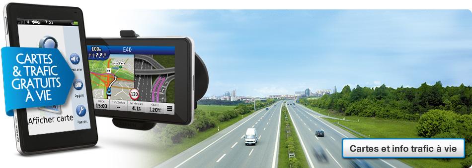 Lifetime Maps & Traffic